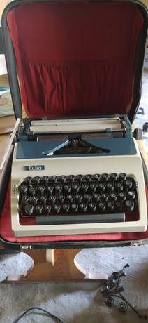 Stara walizkowa maszyna do pisania Erika PRL antyk