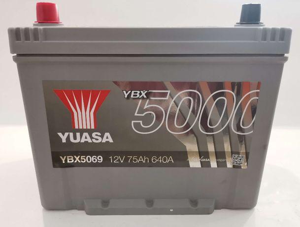 Akumulator YUASA YBX5069 75Ah 640A Promocja!!!