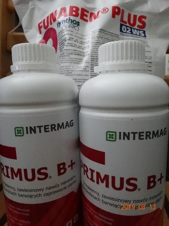 Zaprawa FUNABEN PLUS 1,5kg+2l nawóz PRIMUS B zestaw na 1t
