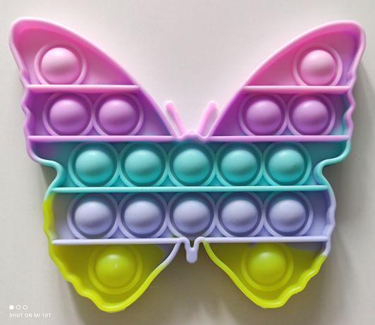 Motyl Motylek Popit Pop IT Bubble Gniotek Fidget