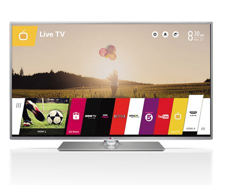Telewizor Led Smart TV LG 55LB650V 3D/WiFi/Netflix/Youtube 55cali!