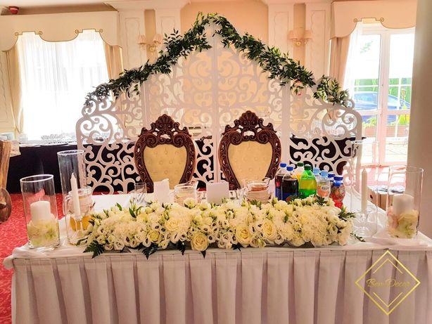 Ścianka ażurowa na wesele