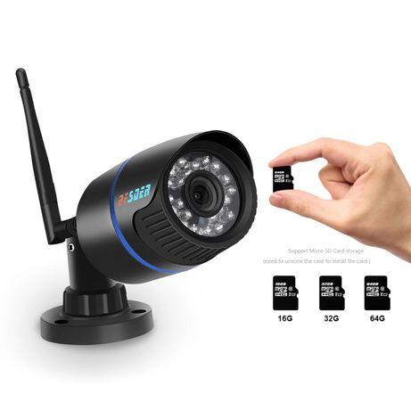 Kamera WiFi FullHD ZEWNĘTRZNA IP NOWA Detekcja Podczerwień OKAZJA