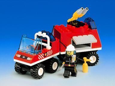 Lego system 6486 пожарная машина 1997 год