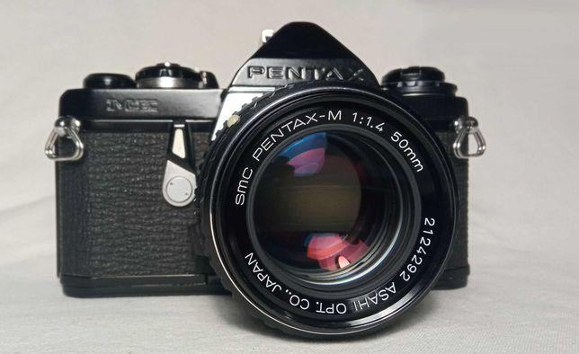 Пленочный фотоаппарат Pentax ME и SMC Pentax-M 50mm 1:1.4