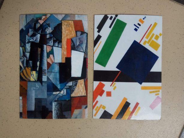 Магниты на холодильник Малевич абстракция абстрактные сувенир подарок