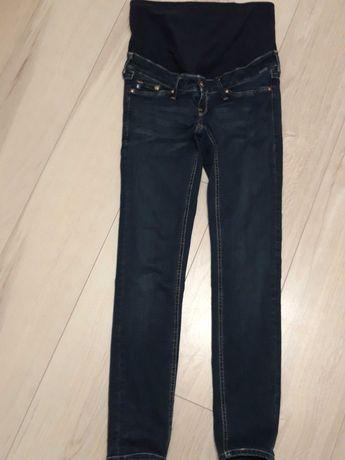 Spodnie jeansowe ciążowe r. S