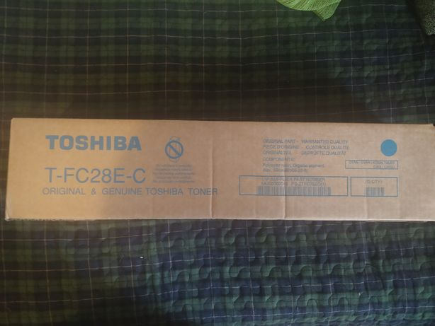 Toner Toshiba T-FC28E-C Cyan