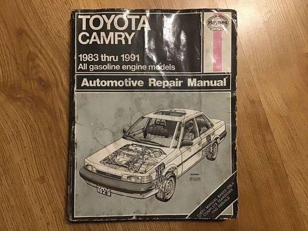 Руководство по эксплуатации Toyota Camry 1983-1991 гг