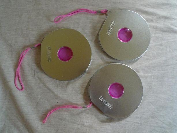 pudełko GLAMOUR na płyty CD 3 szt.