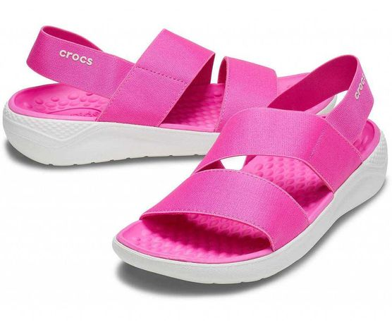 Женские сандалии коралки аквашузы CROCS Womens LiteRide Stretch W10