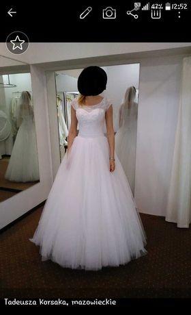 Suknia ślubna roz 36 princessa
