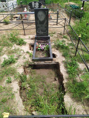 Уборка и благоустройство могил.