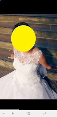 Piękna suknia ślubna rozmiar 36/38