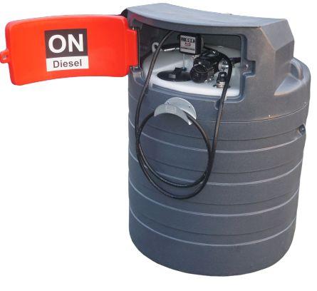 Zbiornik na paliwo dwupłaszczowy rope olej napędowy 1500L NOLEN MIDI