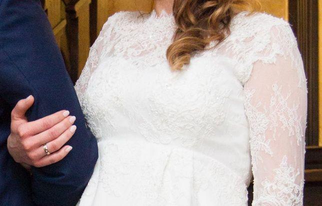 SUKIENKA KOKTAJLOWA CIĄŻOWA na ślub, wesele, poprawiny, chrzest, inne