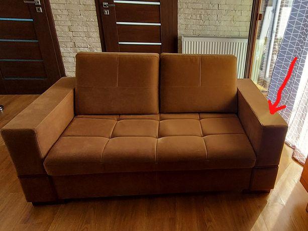Sofa Oxford nierozkładana 170