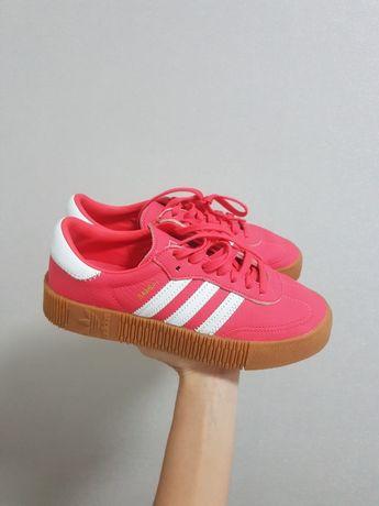 Кроссовки, кеды  Adidas Samba. Оригинал, кожа