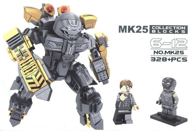 NOVO Set / Kit Robot Homem de Ferro MK25 ED. LIMITADA (compativel Lego