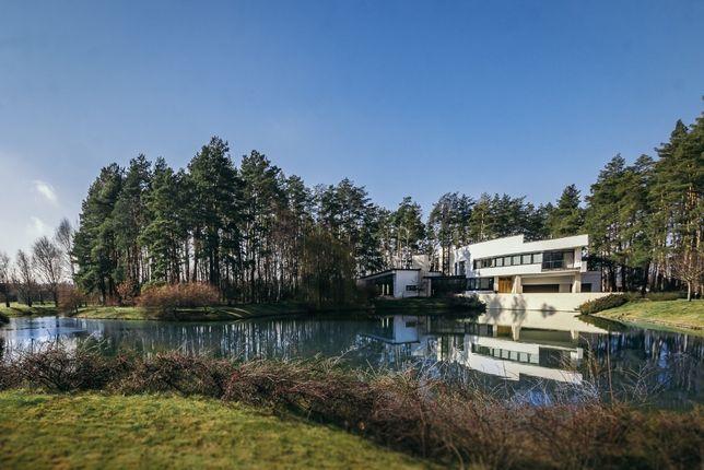Стильная комфортная усадьба с домом у озера в с.Берёзовка