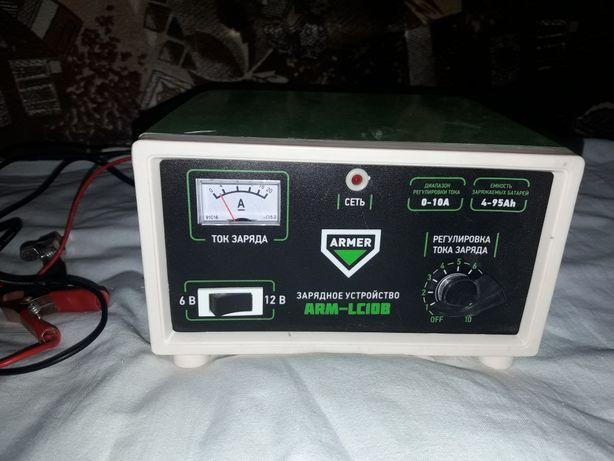Зарядное устройство для аккумуляторов 10A   6/12V Armer