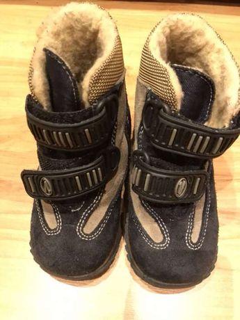 Skórzane buty dziecięce RICHTER 23 z membraną SympaTex