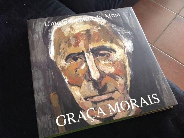 Livro Graça Morais, uma geografia da alma, capa rígida