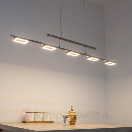Lampa wisząca LED Inigo regulacja wysokości Paul Neuhaus 2446-55