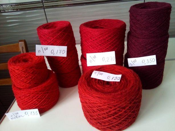 Разные цвета. Пряжа. Нитки для вязания. Шерсть и полушерсть.