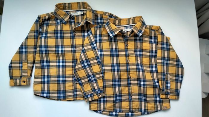 Сорочки в клітинку для хлопчиків,дитячі сорочки Стрый - изображение 1