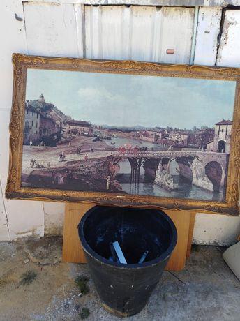 Antigo Quadro Bellotto