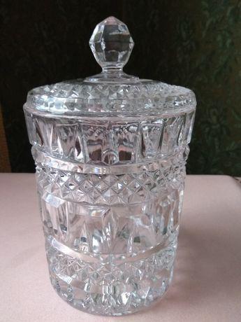 Хрустальная ваза ГДР