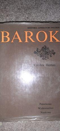 Barok. Historia literatury polskiej.