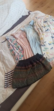 Zestaw sukienek 140-146