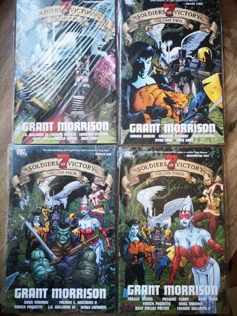 Komiks Seven Soldiers of Victory, Grant Morrison (1-4, wyd. ang.)