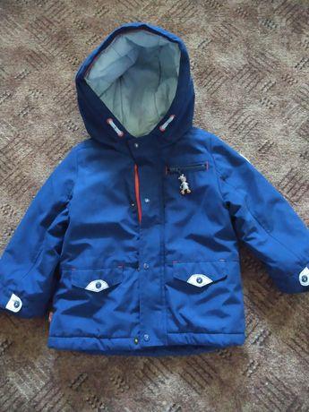 Осенняя Куртка на мальчика размер 86-92