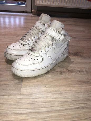 Nike Air force one 1 mid 37 rozmiar białe