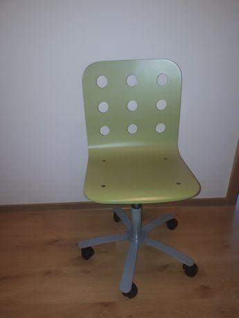 Krzesło obrotowe zielone