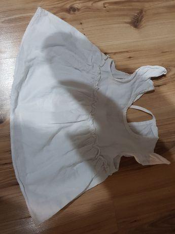 Bluzeczka biała tunika r.86
