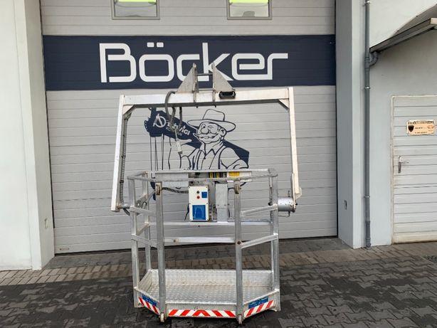 Podest roboczy kosz osobowy Bocker AK 35/3000 dźwig dekarski