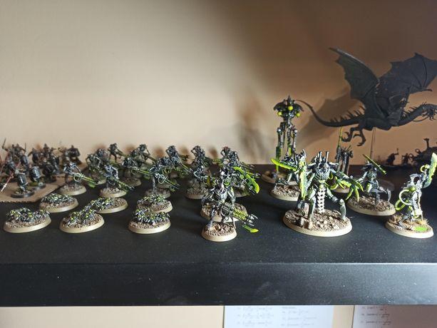 Warhammer 40000 necrons figurki Indomitus