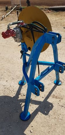 Enrolador idráulico de mangas fitas rega ou plástico agricola