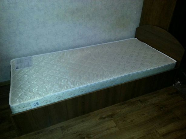 Фабричная Односпальная Кровать 90х200 (Ліжко)! Матрасы на Складе!