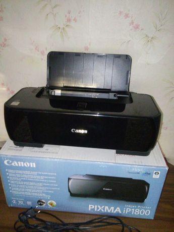 Принтер струйный Canon Pixma ip 1800.Перешлю.