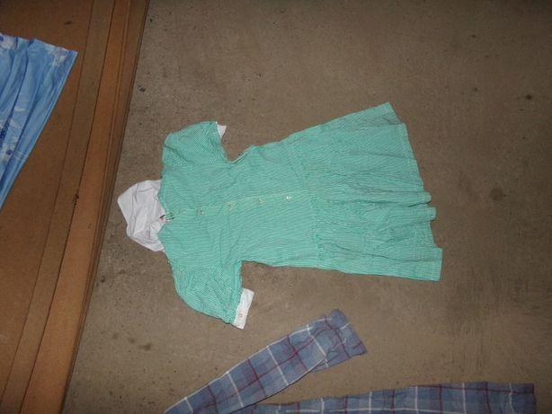 suknia kukienka ubranie na bal w klimacie PRl stare