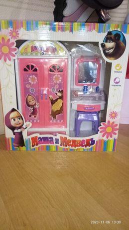 Набор шкафчик для кукол барби со светом и музыкой