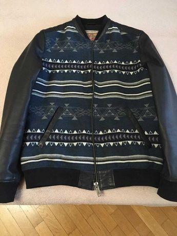 Куртка бренд CHEVIGNON кожа