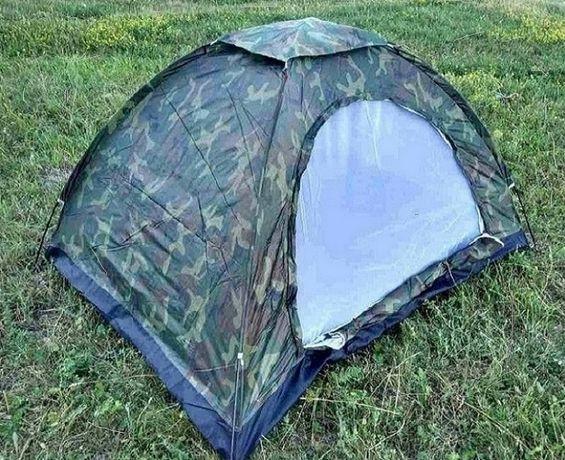 Палатка туристична 2,0х1,5м (камуфляш)