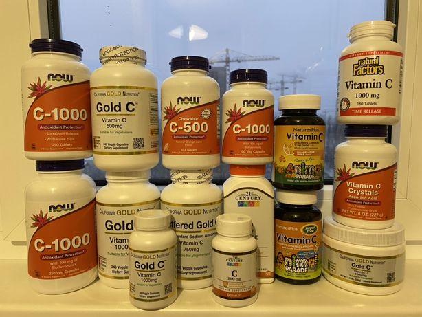 Витамин C California Gold Nutrition (США), витамин С для иммунитета