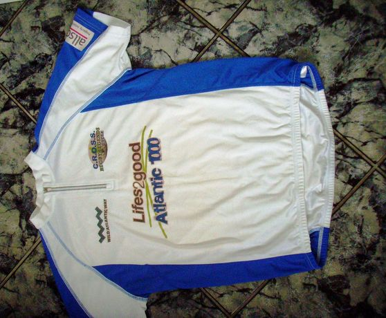 Męska koszulka rowerowa JAMES NICHOLSON -rozm XL